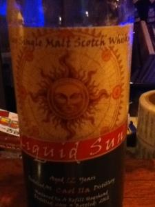 Liquid Sun Caol Ila 12